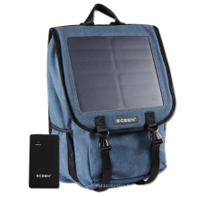 Outdoor Solar Powered Backpack Panneau solaire 10W pour tablette Mobile Solar Power Bag