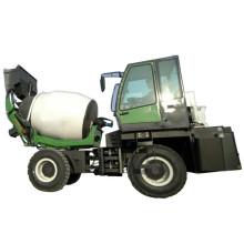 12cbm Self Loading Mobile Concrete Mixer /Concrete mixer truck with loader