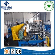 Suqian city metal auto-lock ovale tube / pipe roll machine de formage pour la construction