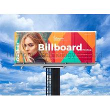 Digital 3D Advertising Print Showing ACP Signpanel Signboard for Billboard Post Board