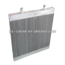 Теплообменник алюминиевый пластинчатый пластинчатый для теплообменника строительной машины / оребренной трубы / деталей строительного оборудования