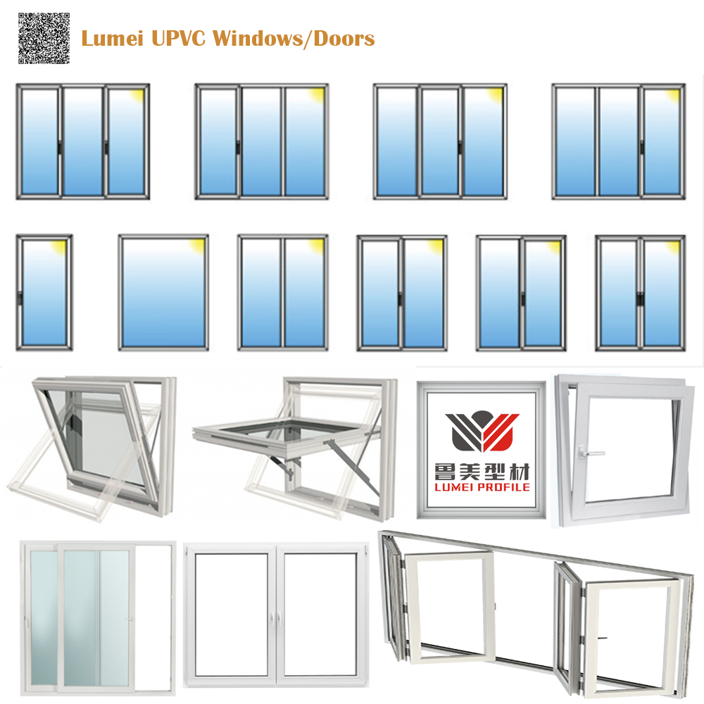 Lumei UPVC Profiles Window