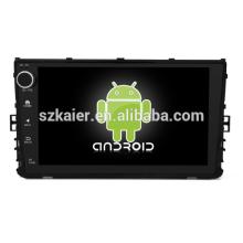 ¡Ocho nucleos! DVD del coche de Android 8.1 para VW Universal con pantalla capacitiva de 9 pulgadas / GPS / Enlace espejo / DVR / TPMS / OBD2 / WIFI / 4G