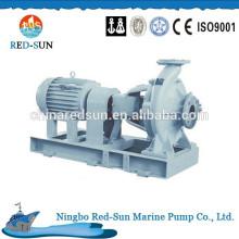 Horizontal single stage single suction marine pump
