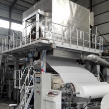 Máquina de fabricação de papel de tecido de polpa de palha de arroz