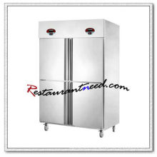 R134 4 Doors Double-Temperature Fancooling/ Static Cooling Kitchen Freezer And Refrigerator