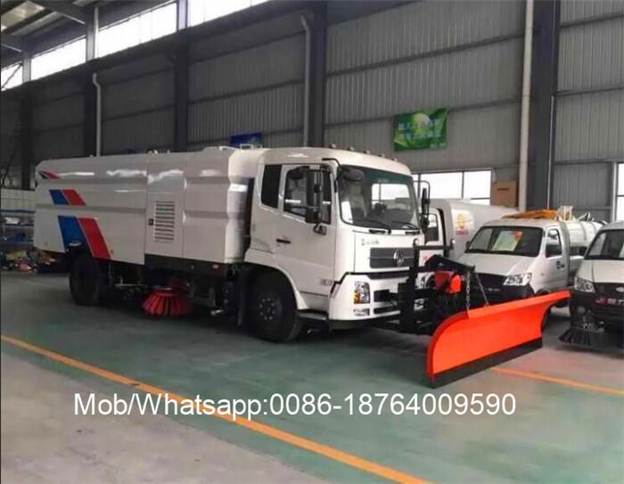 Snow Melt Truck