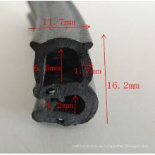 Perfil del PVC de la puerta de coche