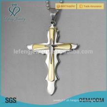 Hot venda celtic miúdos 316l pingente de cruz de aço inoxidável