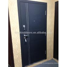 К 2015 году новых KKD-712 стальная дверь с алюминиевой полосы Главная дверь дизайн новый цвет