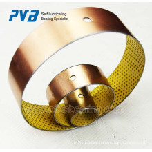 DX bearing,boundary lubrication bearing,POM coated bearing