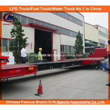 Heavy Duty 2 Axle Extendable Flatbed Semi-Trailer