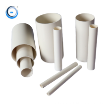 Good quality 75mm plastic pvc  water  drainage pipe with factory price