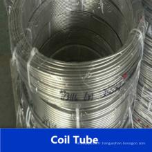 Tube de bobine en acier inoxydable Tp316L