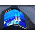 System Fast Lock System Outdoor Curved LED Display