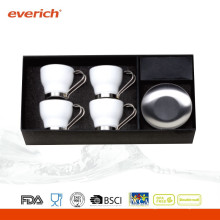 Best selling promotional small ceramic coffee mug set