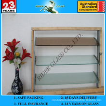 3-6mm Clear Colored Louver Louvre Glas mit AS / NZS2208: 1996
