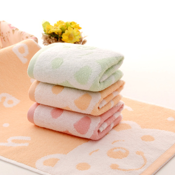 Happy Bear Dekorative Handtücher Kids Travel Towel