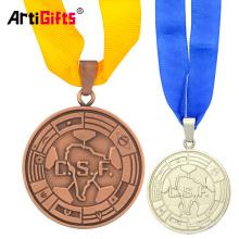 Customized Fake Gold 50Th Wedding Anniversary Souvenir Medal