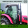 High Power Water Cooled 4WD 70HP Wheeled Tractor Dengan Cab