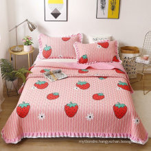 Made in China Hotel Quilt Bedspread Sets King Size Lightweight All-Season