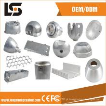 Várias peças de alumínio para câmera de segurança CFTV com fundição sob pressão sem acabamento