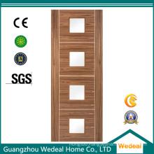 MDF HDF High Quality Wooden Veneer Door for Hotels