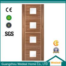 МДФ ХДФ высокого качества деревянная дверь облицовки на отели