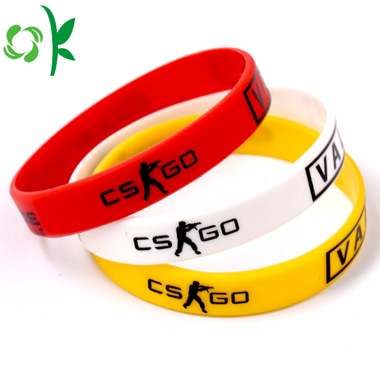 Normal Size Silicone Bracelet