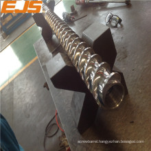 38CrMoALA screw barrel for plastic extruder machine