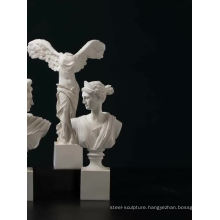 Desk decorative little indoor famous fiberglass angel statues for sale combination effects