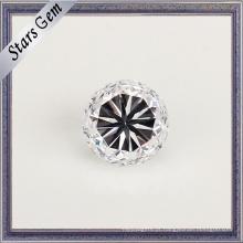 Redonda Estrela Corte De Alta Qualidade De Peso Pesado Cubic Zirconia