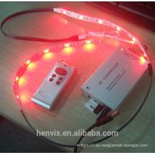 Alto lumen rgb multicolor impermeable USB 5v led tira