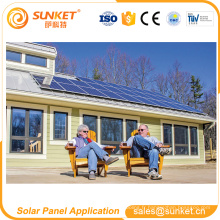 Préférentiel double panneau solaire en verre de pv avec la bonne qualité et le prix le moins cher