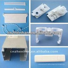 Аксессуар для занавеса-89 мм / 100 мм пластиковый вертикальный шторный аксессуар, вертикальные жалюзи, вертикальные жалюзи
