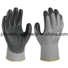 Anti-Cut Safety Work Glove with PU Coated (PD8024)