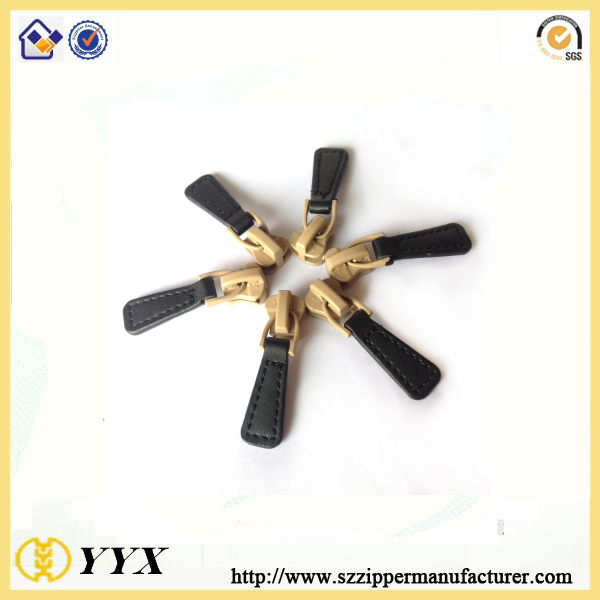 customized pu leather zipper puller