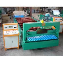 Machine de formage de porte à volet roulant de 760 mm