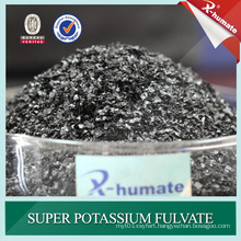 100% Water Soluble Super Potassium Fulvate Shiny Flakes
