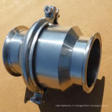 ПОВ сделаны из нержавеющей стали качества еды санитарный клапан шариковый клапан cf8m