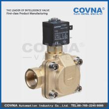 Латунь / SS вода, воздух, масло, газовый электромагнитный клапан нормально открыт