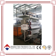 Экструзионная линия для производства мраморных плит из ПВХ