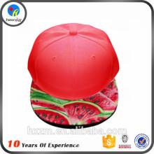 Design hip-hop snapback hats watermelon
