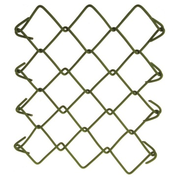 Prix ​​usine 6ft Galvanized Chain Link Fence