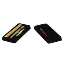 Make up plastic insert flocking blister tray
