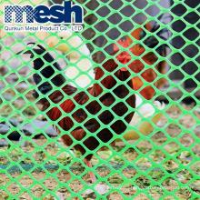 High density polyethylene HDPE plastic screen  plastic flat netting mesh in rolls