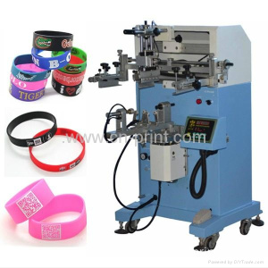 Cylinder silk screen printer for plastic cups