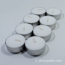 Mini candele decorative di forma rotonda da 8 ore in vendita