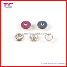 Bunte Metall Zink Snap Button für Kleidung