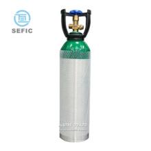 Cylinder, Medical/beverage Gas Tank High Pressure Oxygen/co2 Aluminum 5L 10L 20L Aluminum Cylinder CN;SHG SEFIC